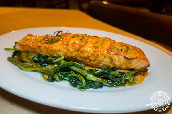Chu Chee salmon at Kelley and Ping in Greenwich Village