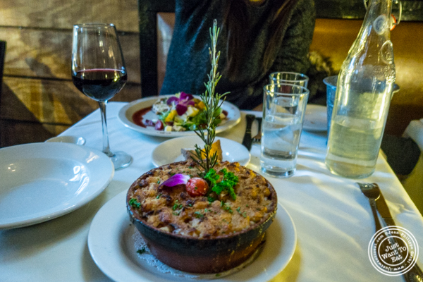 Cassoulet at La Sirene in NYC, NY