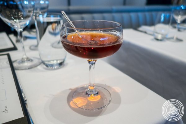 Gentleman's bet cocktail at Porter House in NYC, NY
