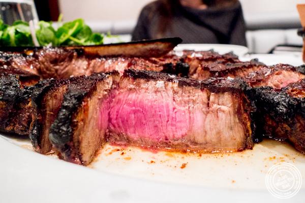 Porterhouse steak at Porter House in NYC, NY
