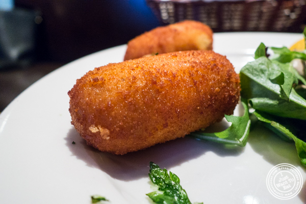 Croquettes aux truffes at BXL Cafe in NYC, NY