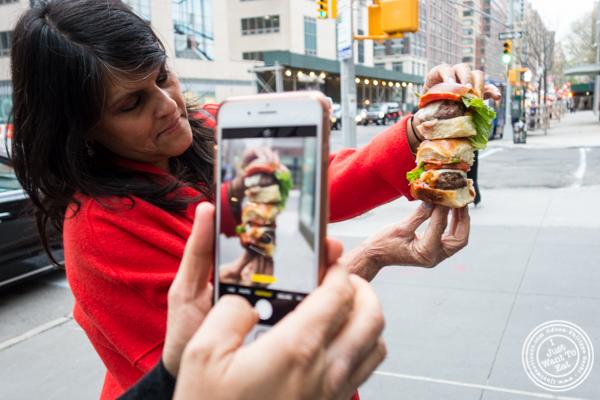 The Restaurant Fairy working at Urbani Truffles, NYC, NY