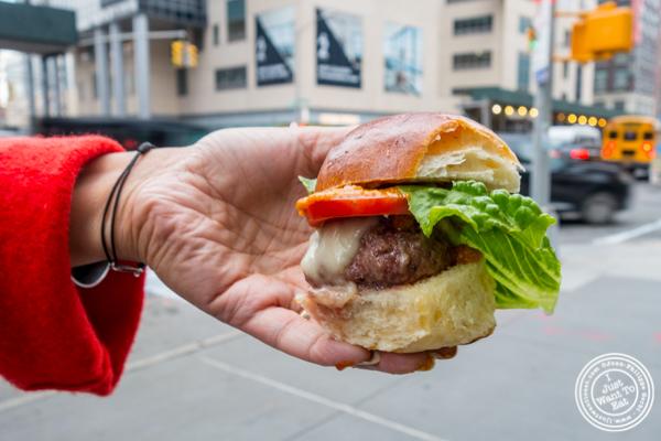 Truffle Burger from Urbani Truffles and Pat LaFrieda