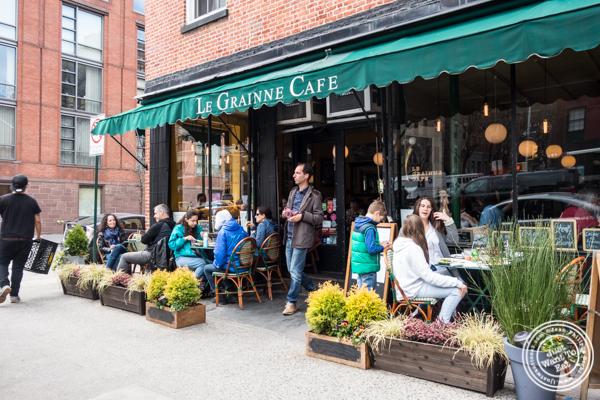 Le Grainne Cafe in Chelsea