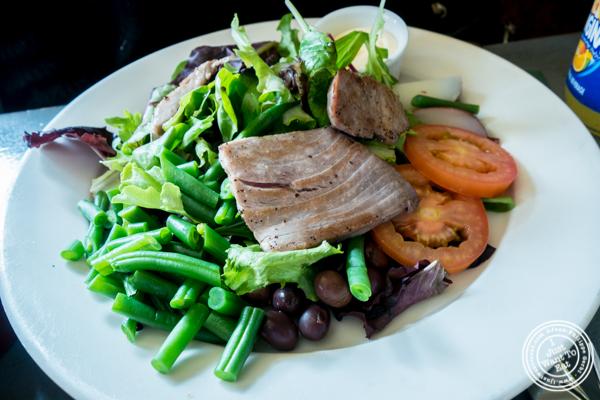 Salade Nicoise at Le Grainne Cafe in Chelsea