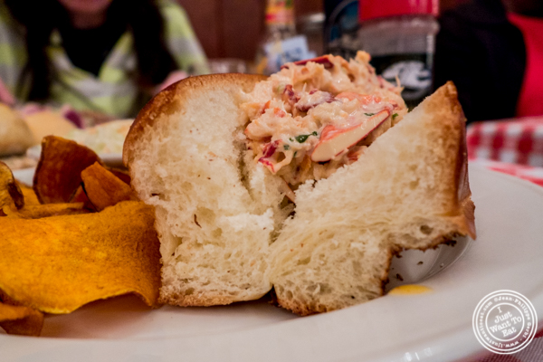 Lobster roll at Grand Central Oyster Bar in NYC, NY