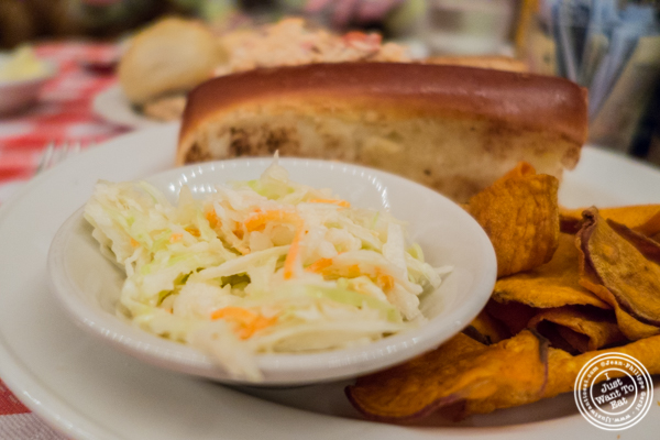 Cole slaw at Grand Central Oyster Bar in NYC, NY