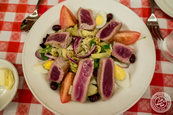 Salade niçoise at Grand Central Oyster Bar in NYC, NY