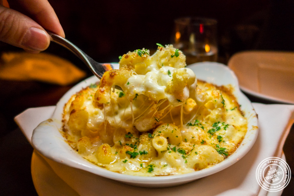 Mac and cheese at Cut by Wolfgang Puck in TriBeCa, NYC