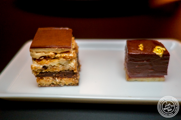 Chocolates at Cut by Wolfgang Puck in TriBeCa, NYC
