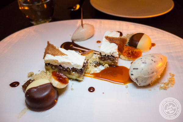 BCP dessert at Cut by Wolfgang Puck in TriBeCa, NYC