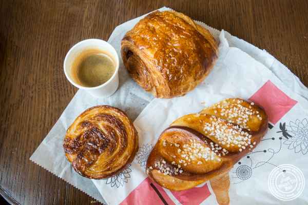 Viennoiseries at Cannelle Patisserie in Long Island City