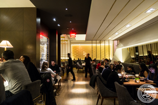 Dining room at Indian Accent in NYC, NY