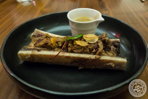 Bone marrow nihari at Indian Accent in NYC, NY