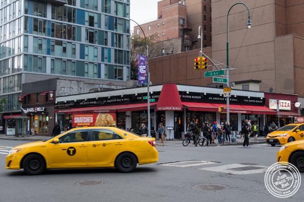 5 Napkin Burger near Union Square, NYC, NY