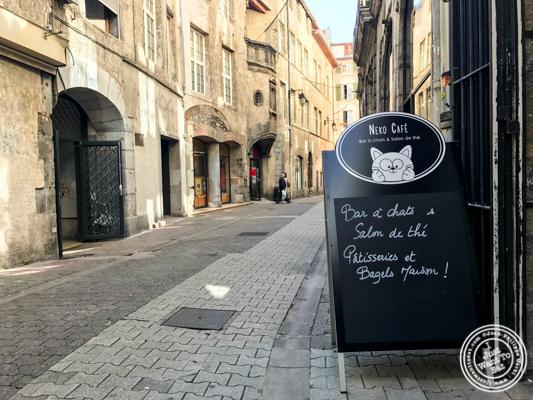 Neko Cafe in Grenoble, France