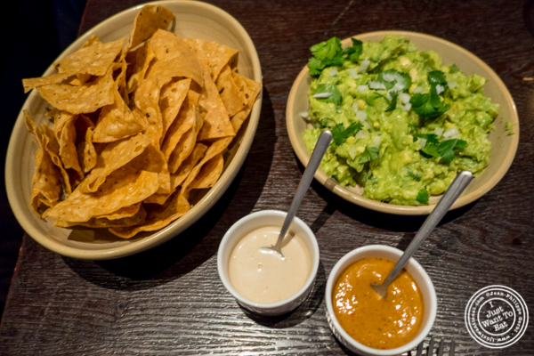 Guacamole and chips at Empellon Taqueria in NYC, NY