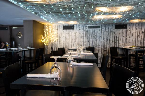 Dining room at Birch Hoboken, NJ