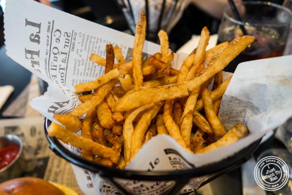 French fries at Birch Hoboken, NJ