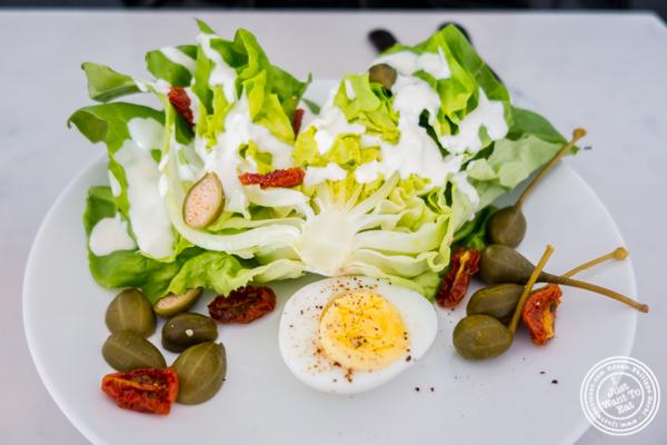 Bibb wedge salad at Porter Collins in Hoboken, NJ
