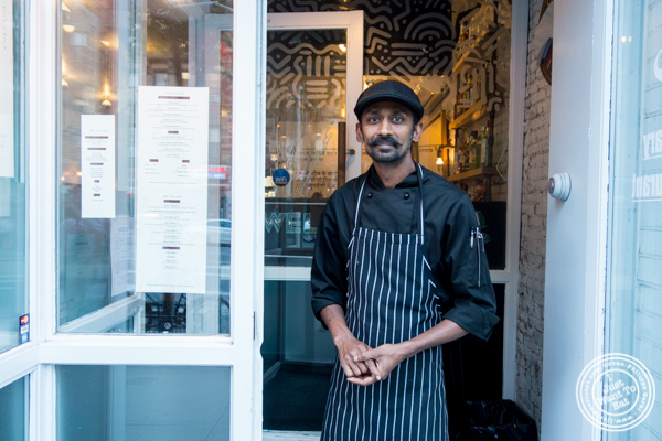 Chef Charles Mani from Badshah Modern Indian in Hell's Kitchen