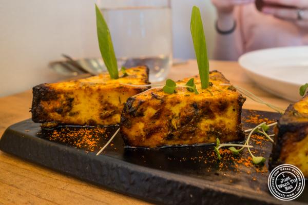 Paneer tikka at Badshah Modern Indian in Hell's Kitchen