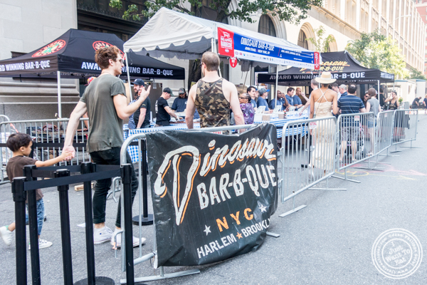 Dinosaur BBQ at The Big Apple BBQ Block Party