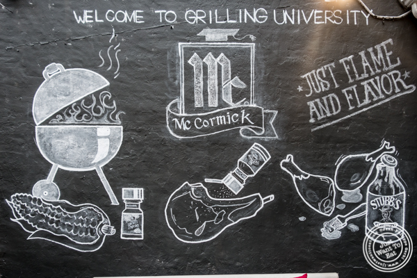Grilling University with McCormick