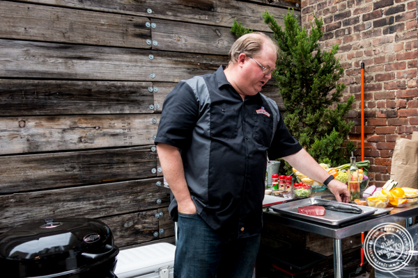 Executive Chef Kevan Vetter at The Grilling University with McCormick