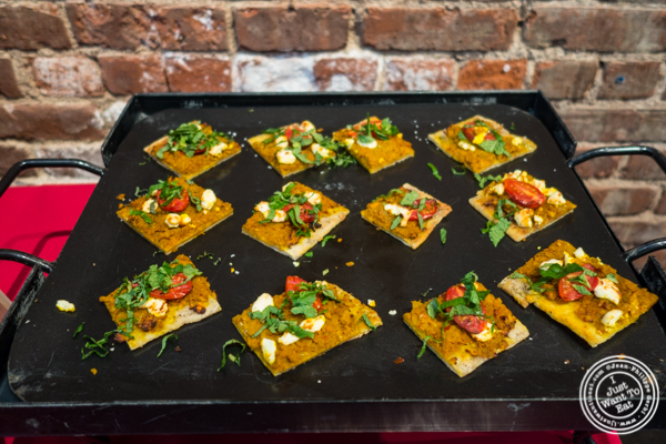 Grilled Indian spiced flatbread at The Grilling University with McCormick