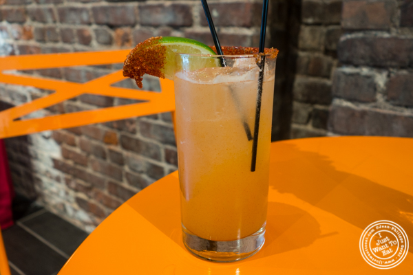 Smoky margarita at The Grilling University with McCormick