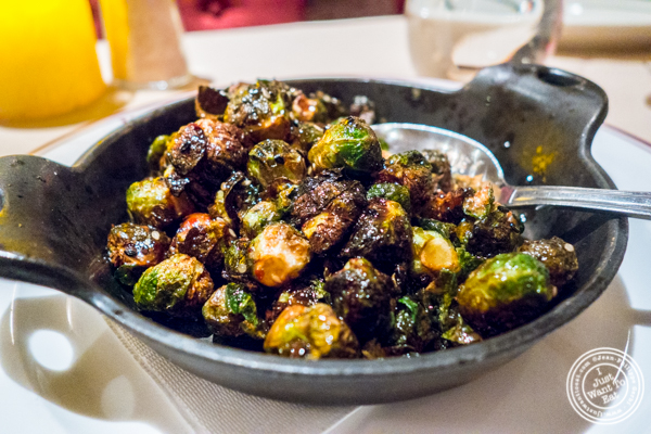 Brussels sprouts at Uncle Jack's Steakhouse in Midtown West , NYC