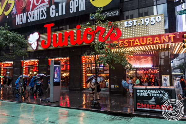 Junior's on 49th St. and Broadway, NYC