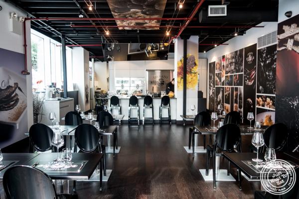 Tasting room at Urbani Truffle Lab in NYC, NY