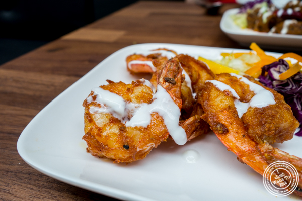 Shrimp koliwada at Imli Urban Indian Food on the Upper East Side, NYC