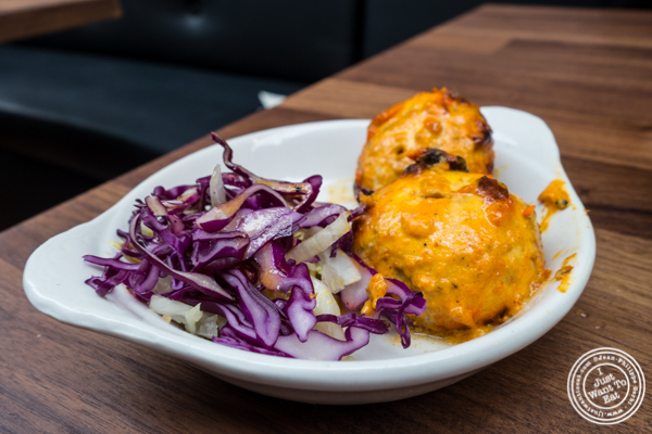 Achari mushrooms at Imli Urban Indian Food on the Upper East Side, NYC