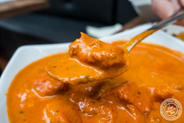 Chicken tikka masala at Imli Urban Indian Food on the Upper East Side, NYC