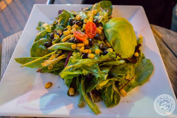 Avocado salad at La Olas in Hoboken, NJ