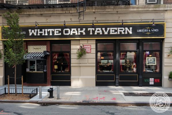 White Oak Tavern in Greenwich Village
