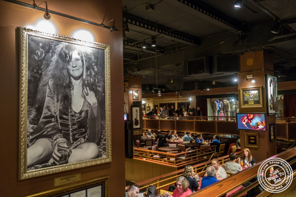 Dining room at Hard Rock Cafe in Times Square