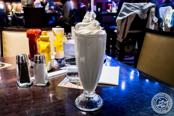 Milkshake at Hard Rock Cafe in Times Square