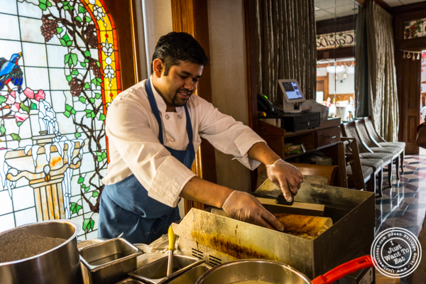 Indian buffet at Vaibhav Indian Spice Journey in Jersey City