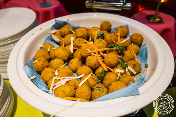 Rice cheese balls at Vaibhav in Jersey City