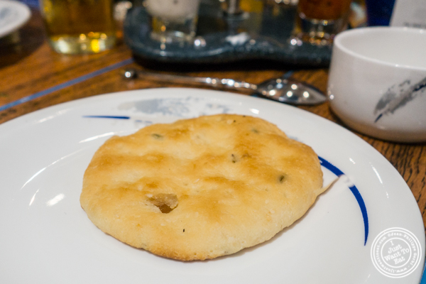 Bread at The Great Kabab Factory in the Radisson Blu, Noida
