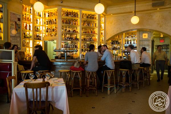 Dining room at Cherche Midi in Soho