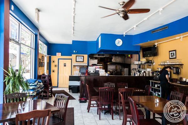 Dining room at Greek Town in Hoboken, NJ