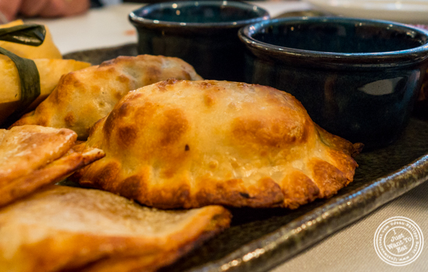 Chicken empanada at Victor's Cafe in NYC, NY