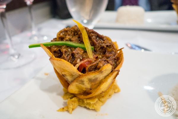 Ropa vieja at Victor's Cafe in NYC, NY