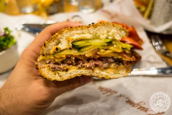 Burger at Burger and Lobster in NYC, NY
