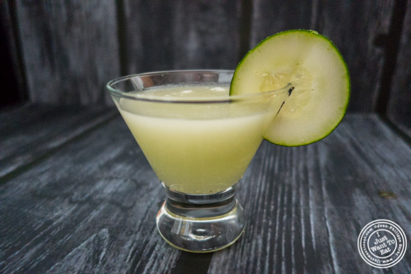 Cucumber cooler with Gringo Bandito Hot Sauce